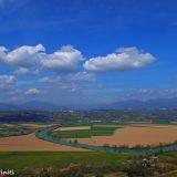 Il fiasco del Tevere visto da Ponzano - CdF media valle del tevere- foto di Alessandra Finiti