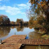 contratto di fiume media valle del tevere: Pontile sul tevere a Gavignano - foto di Alessandra Finiti