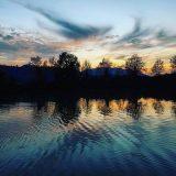 Tevere al tramonto - foto di Emanuele Tetto