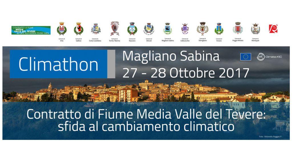 Climathon, Il CdF Media Valle del Tevere sfida il cambiamento climatico