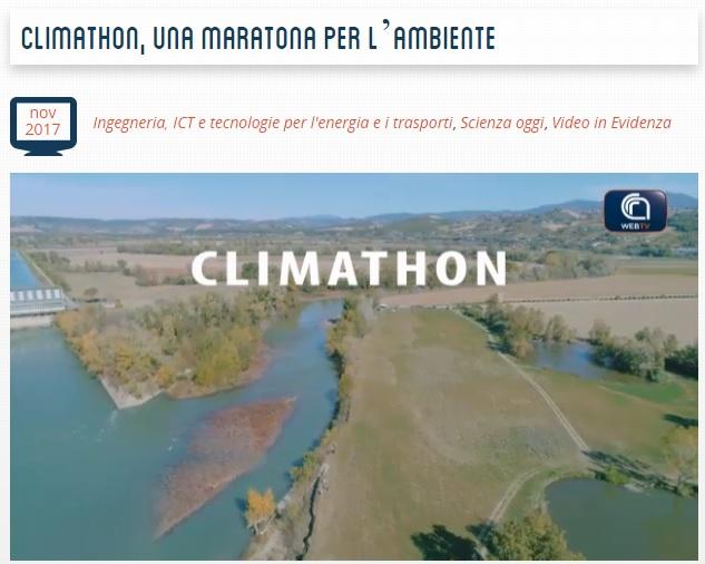 Climathon 2017 Magliano Sabina - CdF Media Valle del Tevere - CNR