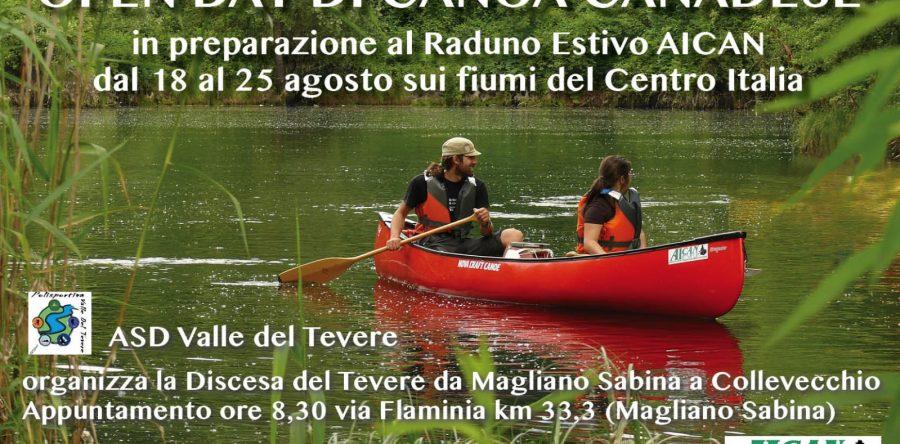 Discesa del Tevere da Magliano Sabina a Collevecchio