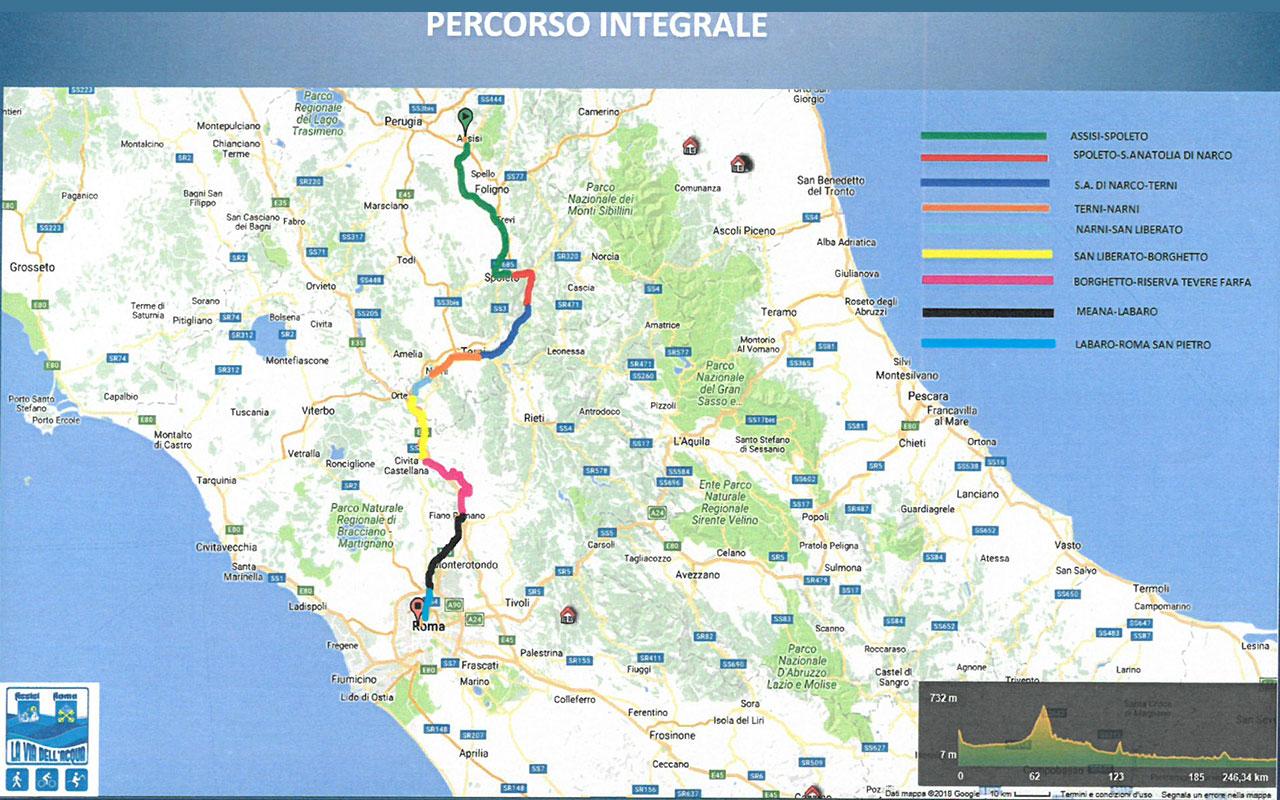 Cartina Michelin Roma.Via Tevere Roma Mappa